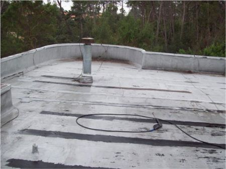 BEFORE U2013 RESIDENTIAL CONCRETE ROOF IN PALM HARBOR, FL