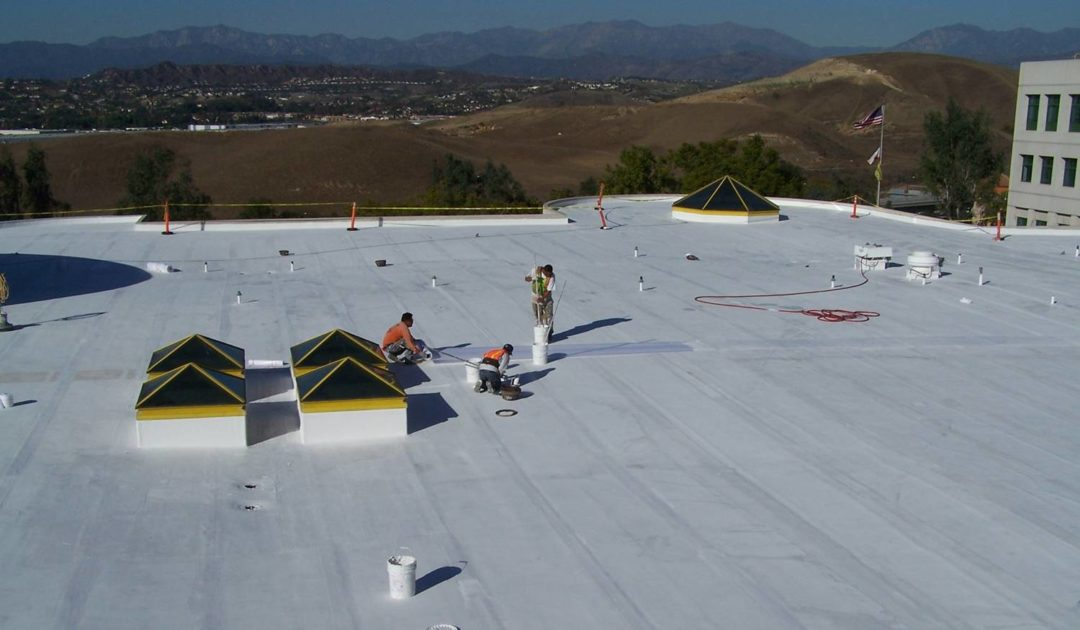 The SureCoat single-ply roofing formula