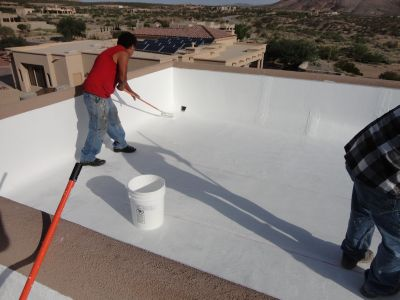 Surecoat Systems Fluid Applied Waterproofing For Roofs Walls And Concrete Restorations Single Ply Elastomeric Roof Coating Epdm Coating Flat