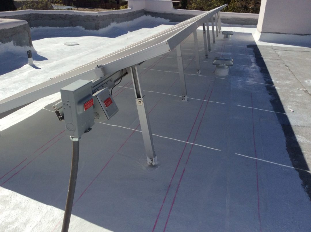 Flat Roof Hail Damage : Surecoat systems fluid applied waterproofing for roofs