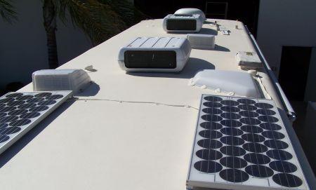 RV roof restoration kit