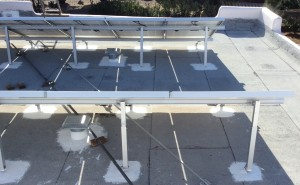 roofing around solar