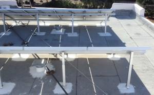 roofing around solar