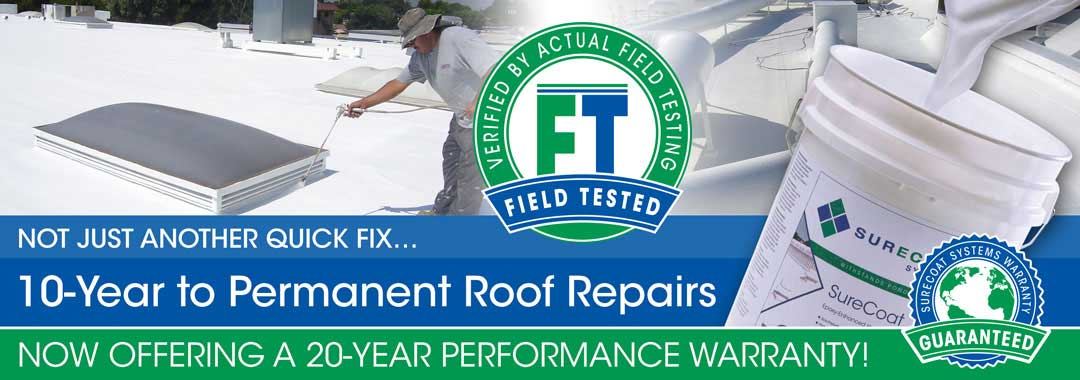 flat roof repair products