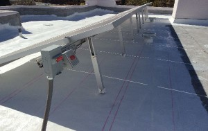 hail damage roofing with solar