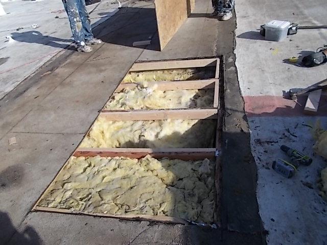 built up roof repairs