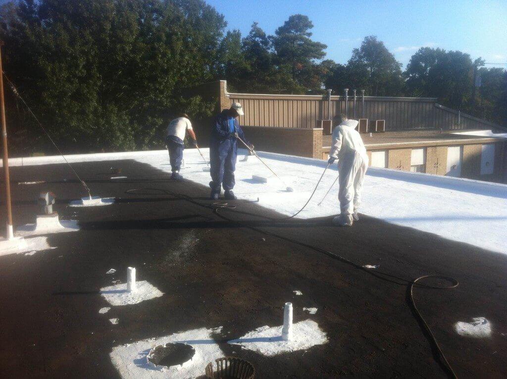 ... Gravel Roof Repairs ...