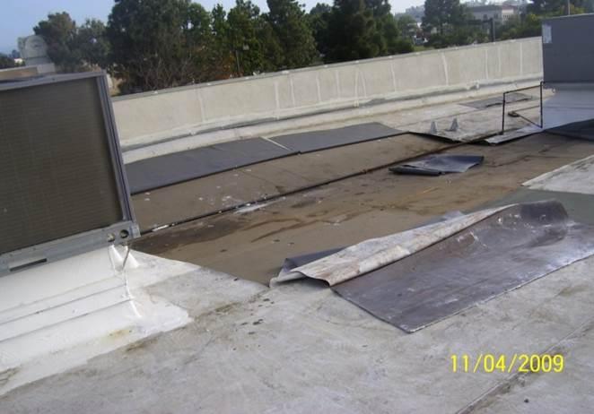 TPO roof repairs