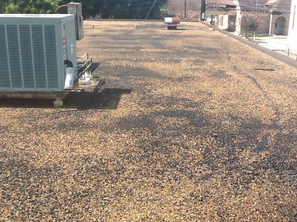 gravel-roof-with-ponding