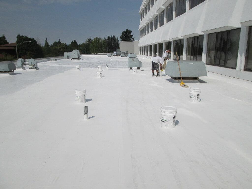single-ply roof system restoration