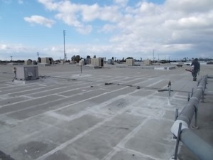 BUR before roof restoration
