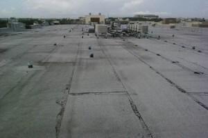 flat built up roofs BUR