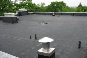flat epdm rubber roof
