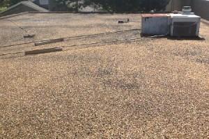 flat gravel roofs