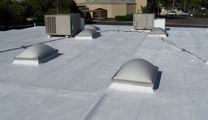 Surecoat systems fluid applied waterproofing for roofs for Flat roof waterproofing paint