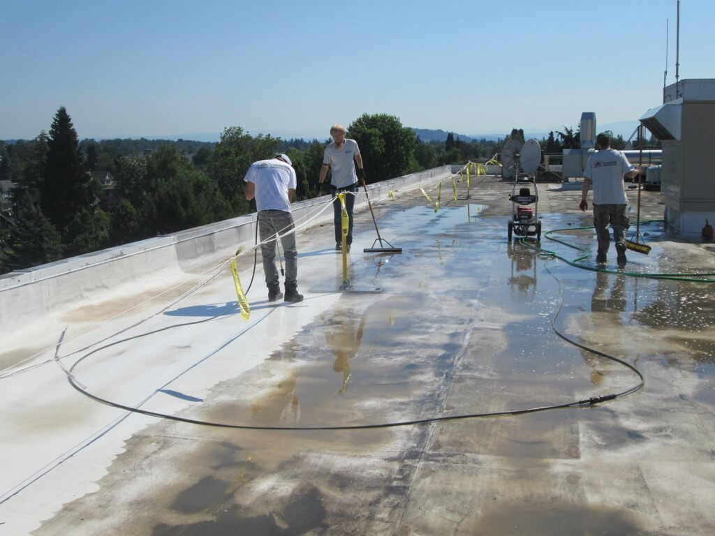 PVC Single Ply Roof Coating