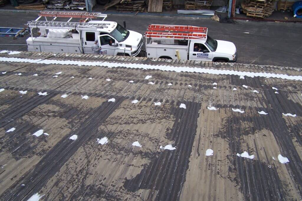coating fasteners metal roof