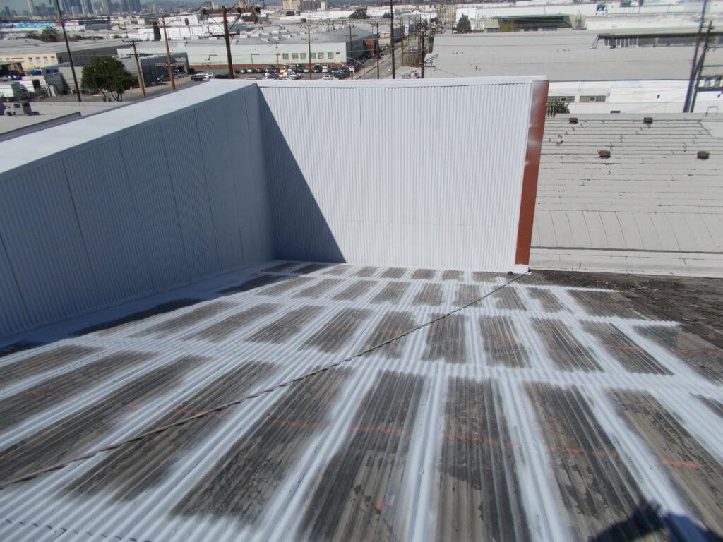 Surecoat systems fluid applied waterproofing for roofs for Steel roof paint