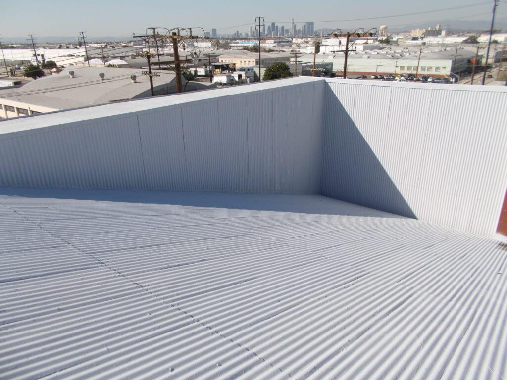 metal roof coating system