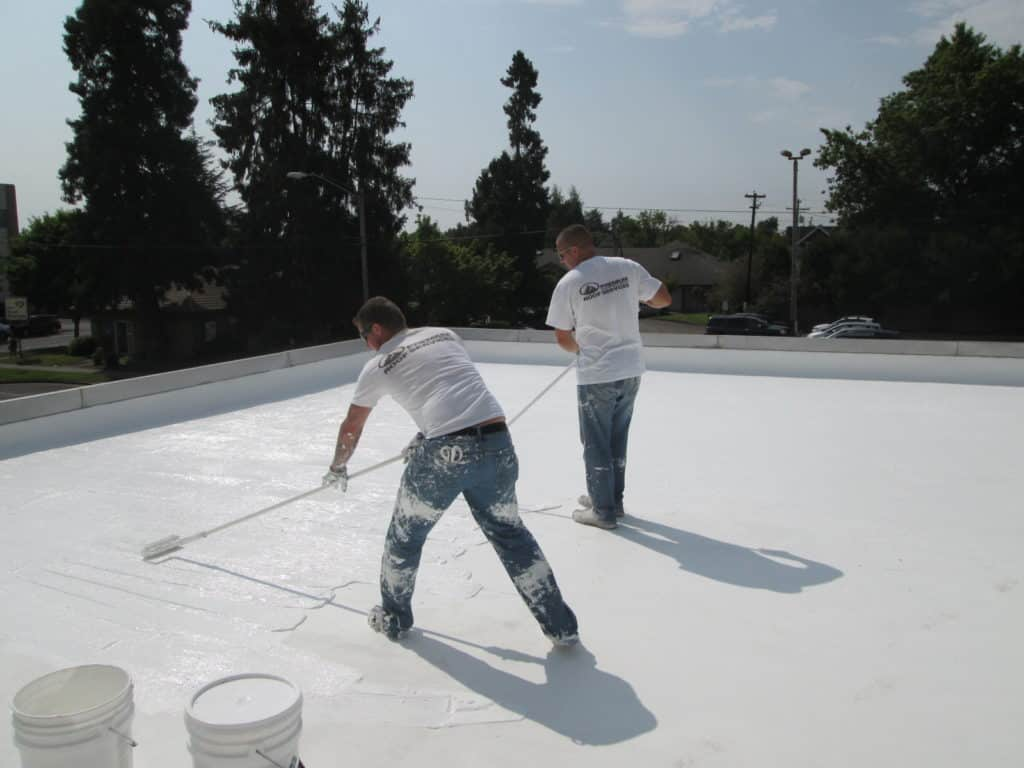 PVC single-ply roof systems