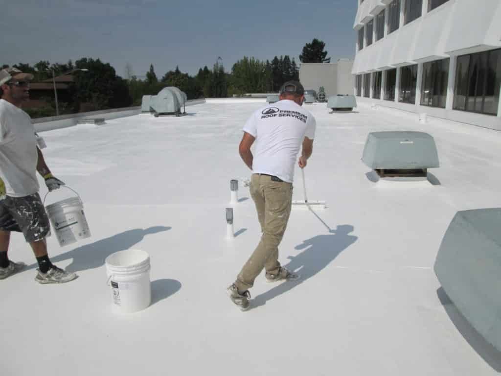 seamless single-ply roof systems